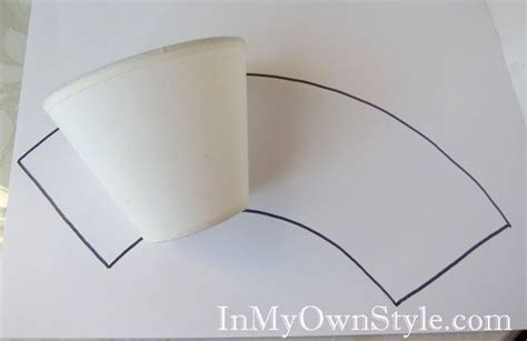 Make Your Own Paper L Shade - diy chandelier shades covers