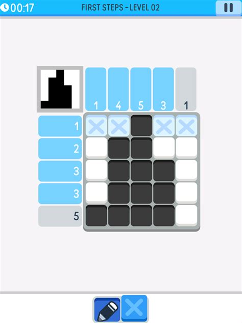 solving color nonograms logic pic solve nonogram griddler puzzles android