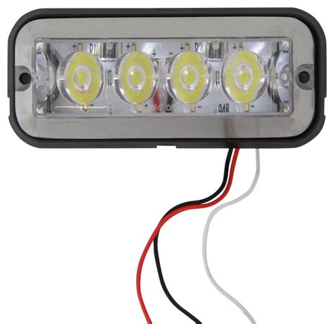 pa vehicle code for red lights on emergency vehicles custer 4 led strobe light or running light 3 wire