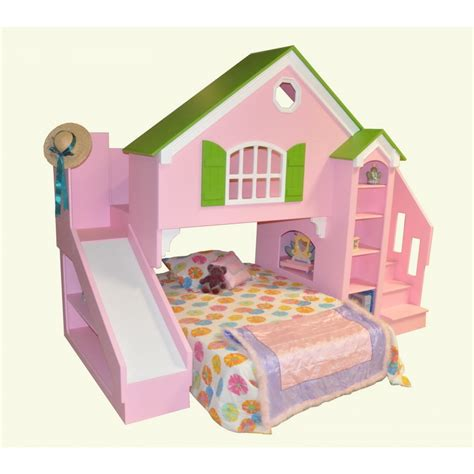tanglewood design dollhouse bed plans with optional slide