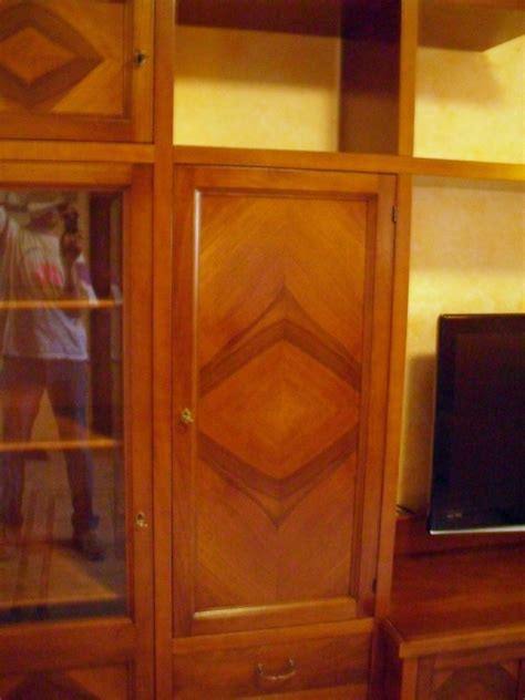 mobili soggiorno su misura mobile soggiorno classico su misura noce massello la