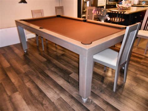 Convertible Dining Room Pool Table by New Yorker Pool Table Designer