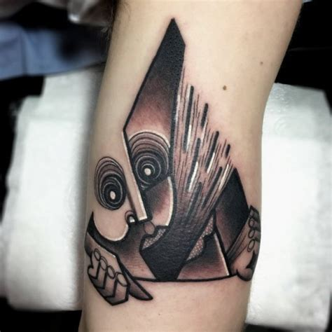 cubism tattoo cubism triangle best ideas gallery