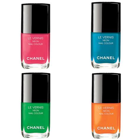 color channel chanel le vernis neon nail color makeup beautyalmanac