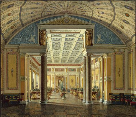 The Room Interiors file hau interiors of the new hermitage the room of