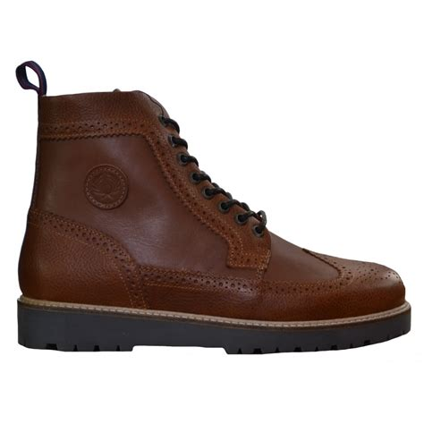 fred perry mens northgate leather boot