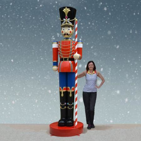 set of 10 ft. giant toy soldiers christmas night inc.