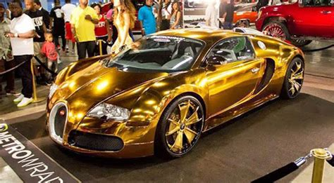 gold bugatti wallpaper bugatti veyron gold chrome image 394