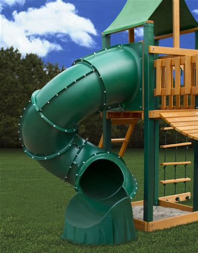 swing set tube slide extreme tube slide swingsetmall com