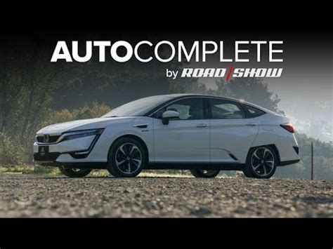 2017 honda clarity fuel cell first look and overview | doovi