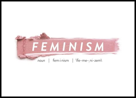Country Kitchen Design Ideas feminism poster