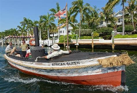key west boat launch african queen canal cruise key largo fl hours address