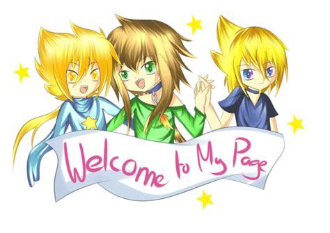 welcome to my page animation welcome to my page anime welcome myniceprofile com