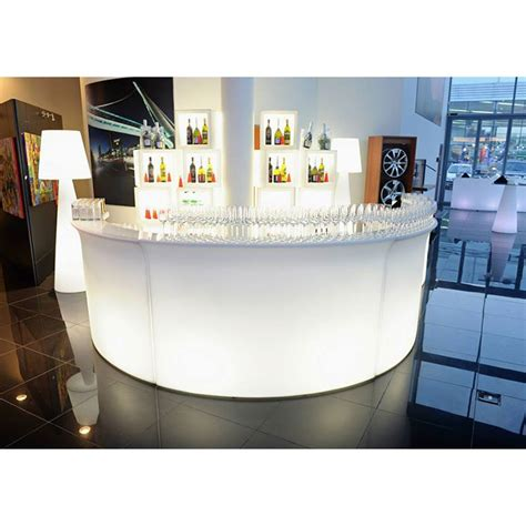 comptoir bar design bar comptoir lumineux marque slide design bar