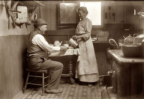 Kitchen On George History Shorpy Historic Picture Archive Broad Channel 1915