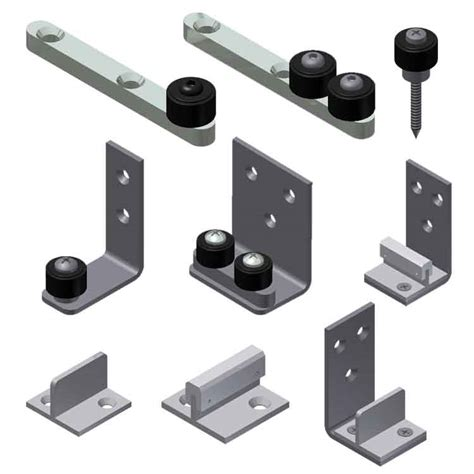Barn Door Stay Roller Concealed Stay Rollers