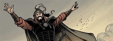 genghis khan otomano genghis khan arrives in july from idw