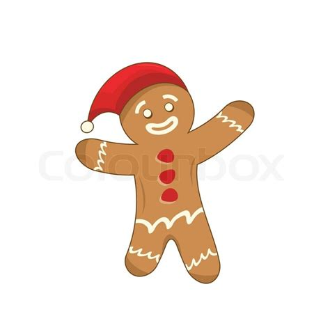 Gingerbread Home Decor by Illustration Of A Happy Xmas Gingerbread Man Stock