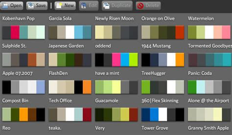 color palette ideas for websites 32 free web applications for your toolbox psdfan