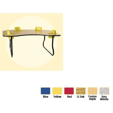 infant activity table infant feeding activity table 4 seat space saver table