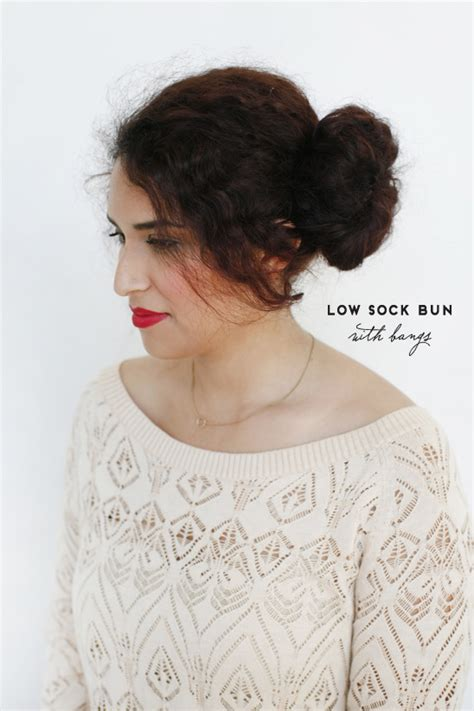is putting hair in a bun a new fad blog put your hair in a big bun using the soxy
