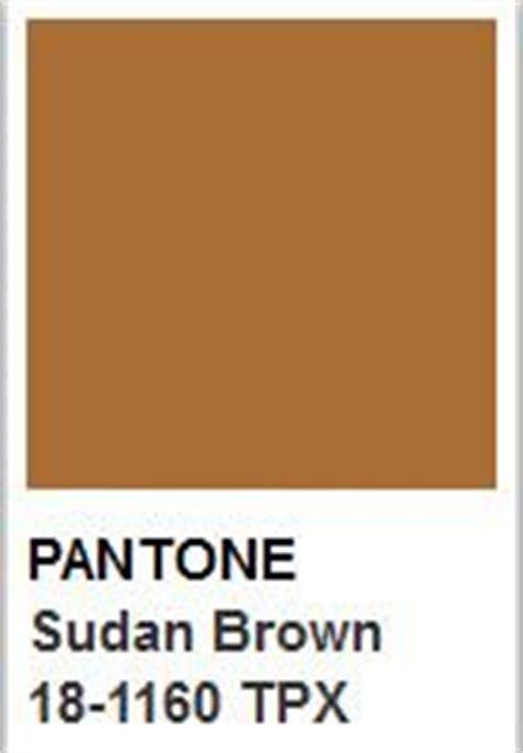 pantone brown color of the day sudan brown pantone color colors