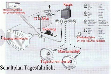 Schaltung Tagfahrlicht Motorrad by Led Tagfahrlichter