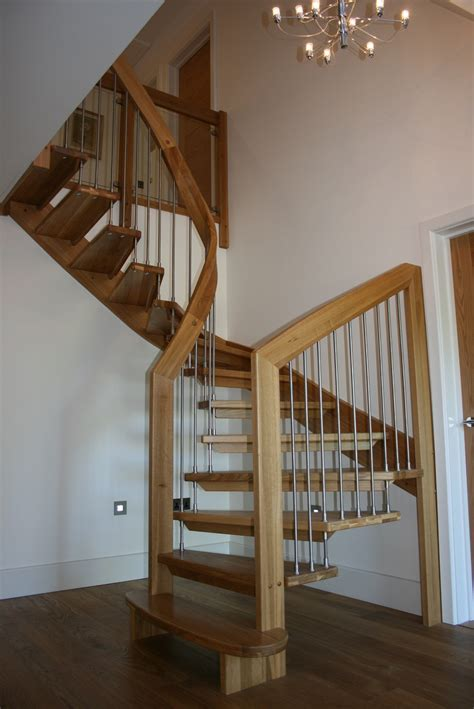 wood stair case bespoke wooden staircase lowestoft suffolk timber