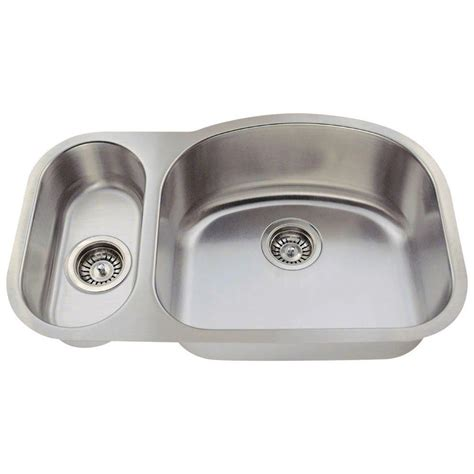 28 kitchen sink polaris sinks undermount stainless steel 28 in