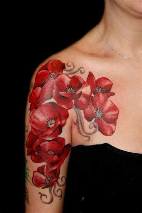 poppycock tattoo 34 endearing poppy tattoos designs