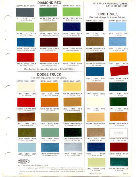 ford truck paint colors atamu