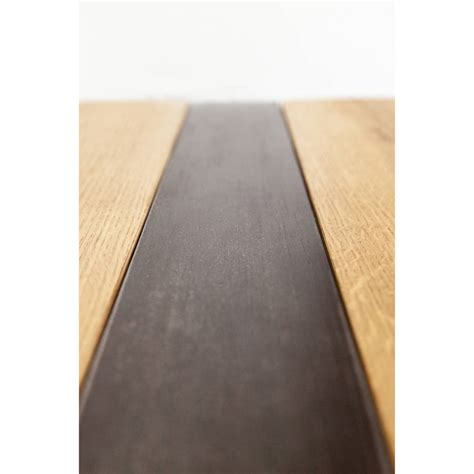 z kollektion oak and iron coffee table by oak iron
