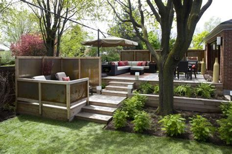 how to level out backyard multi level backyard outdoor garden design pinterest