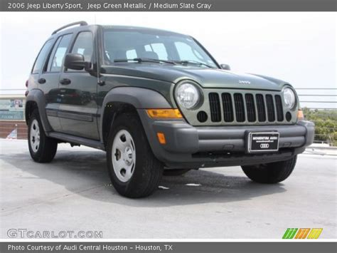 2006 green jeep liberty jeep green metallic 2006 jeep liberty sport medium