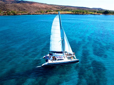catamaran tours big island hawaii ko olina ocean adventures oahu snorkeling sail