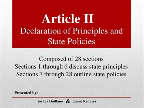 article 2 section 2 of the constitution summary article ii philippine constitution