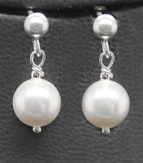 Hochzeit Ohrringe Perlen by Perlenschmuck Zuchtperlen Kette F 252 R Die Hochzeit Kaufen