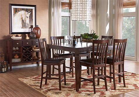 julian place vanilla counter height dining room sets suites furniture collections