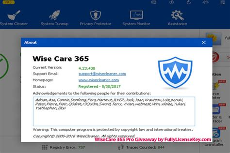Wise Care 365 Pro Giveaway - wise care 365 pro license key free 2018 for lifetime