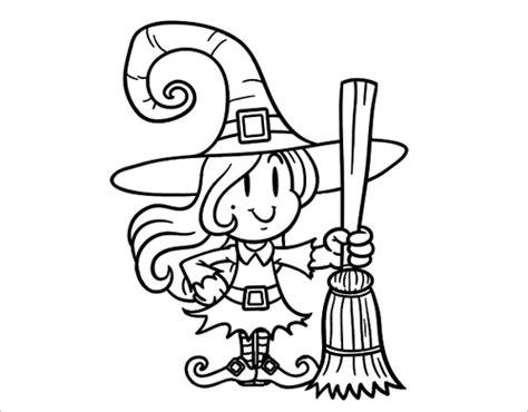 imagenes de brujas bonitas para dibujar los 10 mejores dibujos de halloween para colorear
