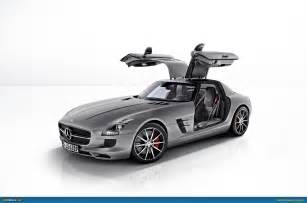Mercedes With Gullwing Doors Ausmotive 187 Mercedes Sls Amg Gt Revealed