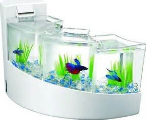 New Aqueon Betta Falls Desk top Aquarium with separate chambers in