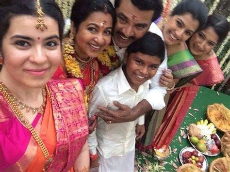 actress radhika, sarathkumar family personal video|actress