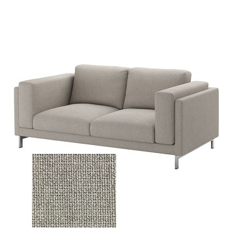 grey loveseat cover ikea nockeby slipcover 2 seat loveseat cover teno light