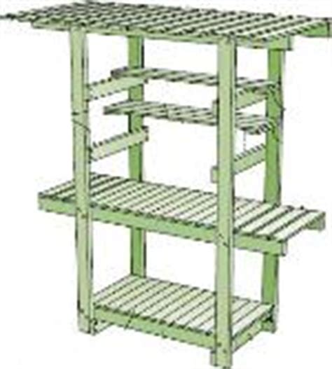 redwood potting bench how to make a potting bench 11 free plans plans 1 8