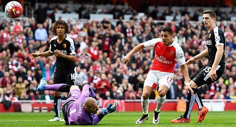 arsenal watford head to head arsenal vs watford english premier league 2017 head to