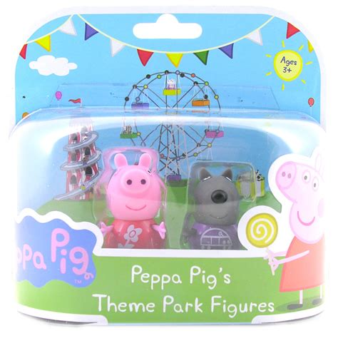 theme park peppa pig peppa pig theme park figures from peppa pig wwsm