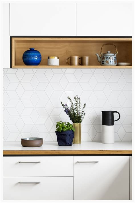 white backsplash tile alternatives to white subway tile centsational