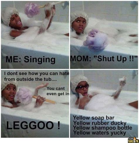 Tub Girl Meme - singing in the bath tub