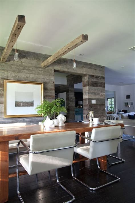 rustic modern dining room rustic modern dining room awesome wood wall pendant